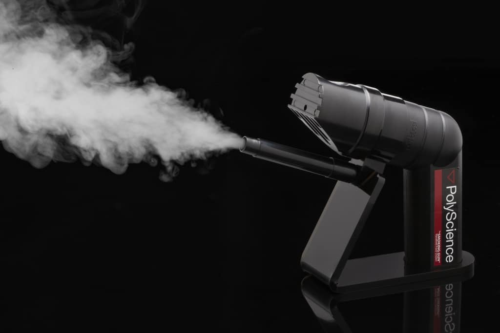 how to use a smoking gun